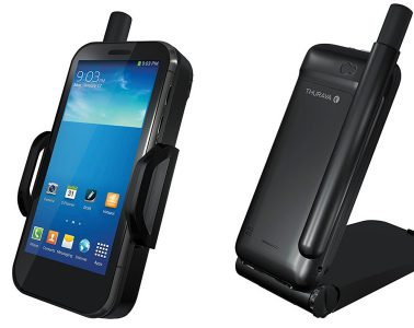 Satellite Phone and Equipment Reviews - Thuraya SatSleeve